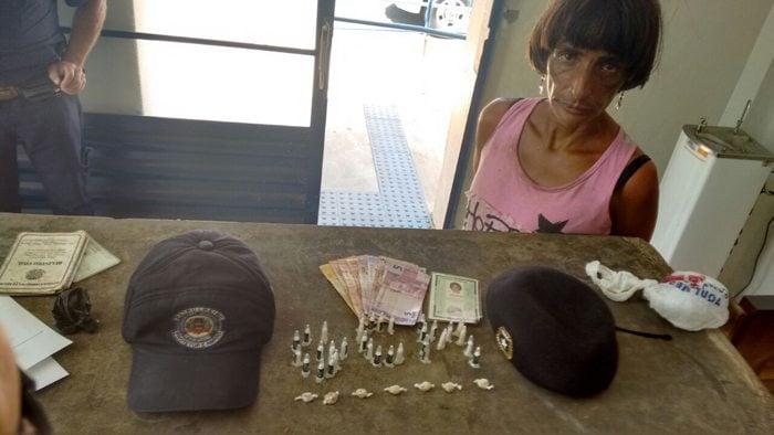 Mulher de 42 anos é presa portando crack e cocaína na Santa Luzia - O Popular Digital
