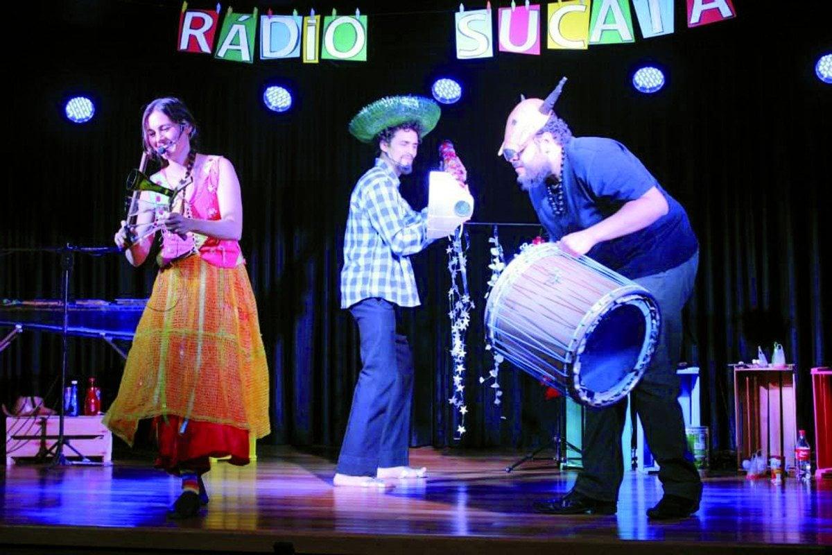 Rádio Sucata integra evento de popularização de teatro - O Popular Digital