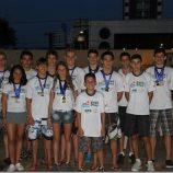 Nadadores conquistam 27 medalhas no Tênis Clube