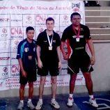 Luiz Manara é campeão paulista de tênis de mesa