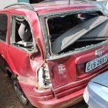 Homem de 24 anos morre após perder o controle e capotar carro