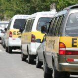Motoristas de vans escolares reclamam de operadores