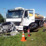 Acidente de carro na Mogi-Limeira deixa duas mulheres mortas