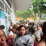 Em dois dias, cinco mil senhas foram entregues no Centro Cultural