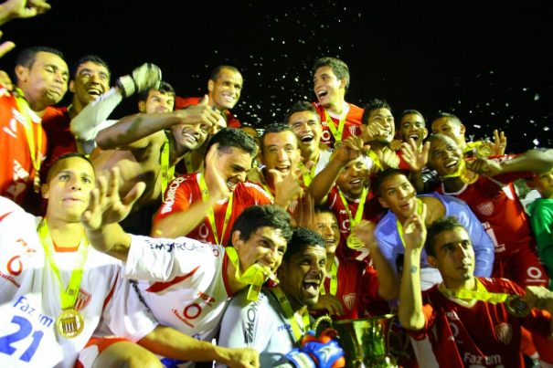 Em 2012, Mogi Mirim conquistou o título de campeão do Troféu do Interior. (Foto: Arquivo)