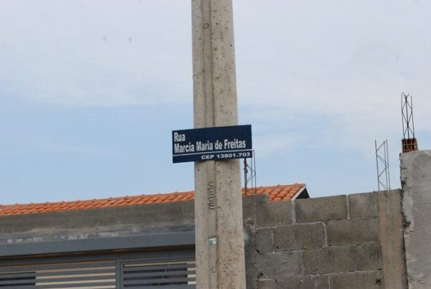 Placas foram colocadas em diversas ruas da cidade (Foto: Divulgação)