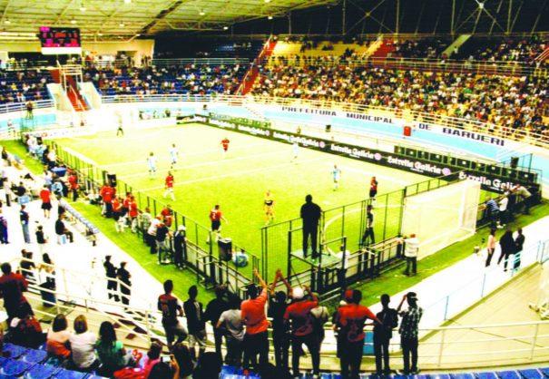 Showbol reúne ex-jogadores de futebol e tem exibição do SPORTV (Foto: Divulgação)