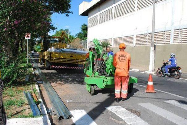 Serão destinados R$ 1,2 milhão do orçamento municipal para a colocação dos 3.490 metros lineares de defensas (Foto: Divulgação)