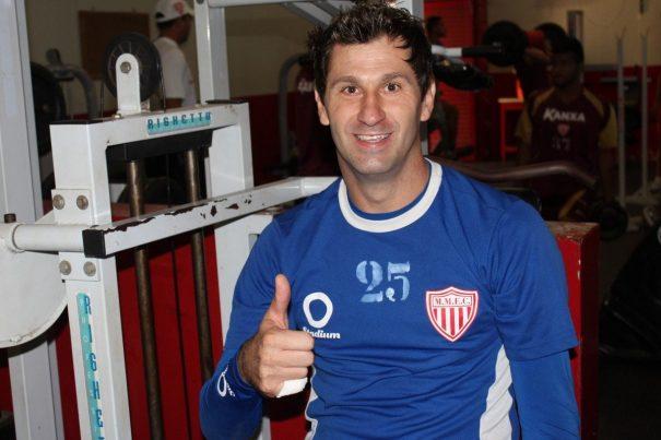 Revelado pelo Mogi Mirim, goleiro Mauro está de volta ao Sapão. (Foto: Divulgação)
