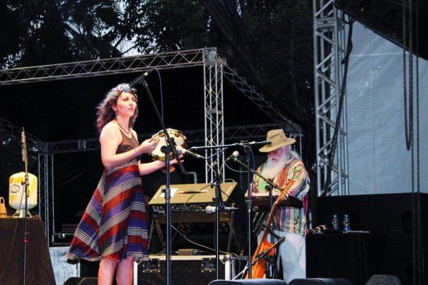 Principal atração foi o show do instrumentista Hermeto Pascoal, que animou o público na Praça Rui Barbosa. (Foto: Fernando Surur)