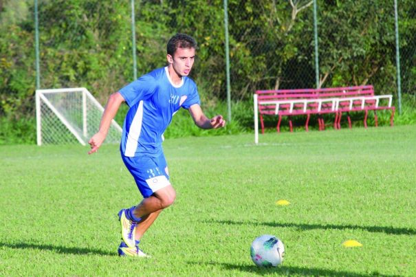 """Meia Vitinho foi revelado no Tupi: """"Foi o time que me criou"""". (Foto: Arquivo)"""
