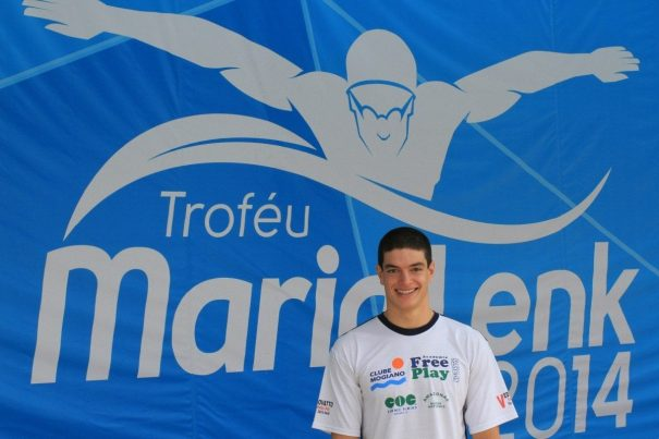Conrado Coradi Lino conquistou resultado histórico para a natação mogimiriana. (Foto: Divulgação)