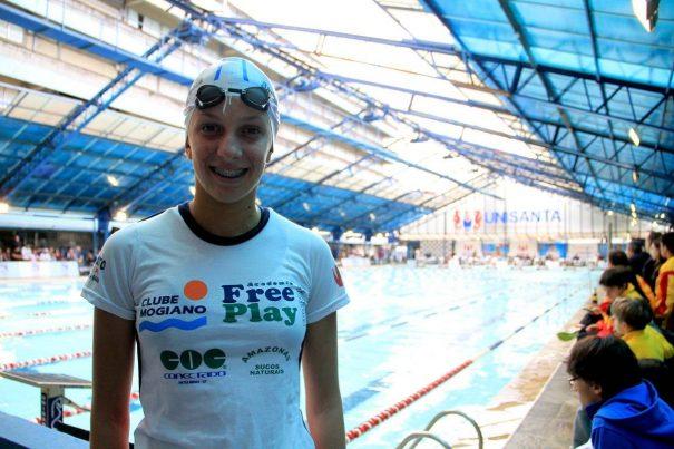 Bárbara somou 15 pontos para a equipe, que terminou na sétima colocação na categoria juvenil 1. (Foto: Divulgação)