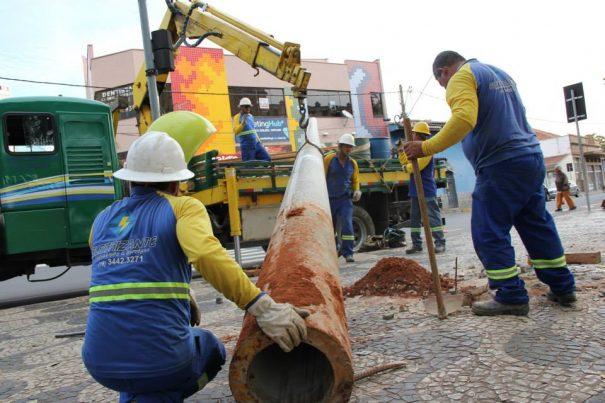 O trabalho foi executado por uma empresa contratada pela própria entidade e demorou cerca de duas horas (Foto: Nelson Victal/Divulgação)