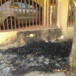 Vândalos ateiam fogo em pilha de entulho na Vila Dias