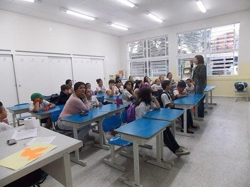 A nova estrutura da escola foi apresentada para os pais dos alunos. (Foto: Divulgação)
