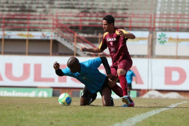 Mogi Mirim venceu o Bragantino, que está na disputa da Série B do Campeonato Brasileiro. (Foto: Divulgação Assessoria MMEC)
