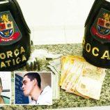 Operação da Polícia Militar prende três homens por tráfico