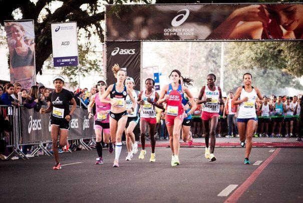 Mirlene competiu em prova que teve o domínio de quenianas. (Foto: Divulgação)
