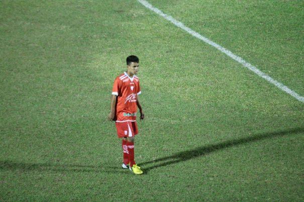 Tratado como talento promissor no Mogi Mirim, Romildinho é sobrinho de Rivaldo. (Foto: Diego Ortiz)