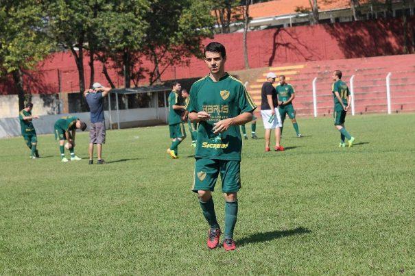 Clodo deu show, com os 5 gols da vitória, e alcançou a artilharia. (Foto: Diego Ortiz)