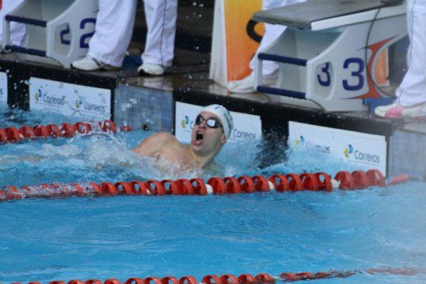 Conrado Lino, do Clube Mogiano/Free Play, ficou atrás apenas dos nadadores da seleção brasileira em prova. (Foto: Divulgação)