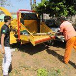 Convênio garante triturador de galhos de R$ 118 mil