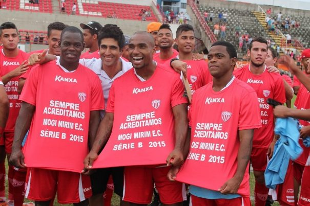 Com o acesso garantido à Série B do Brasileiro, Mogi mira agora a conquista do título da Série C. (Foto: Fernando Surur)