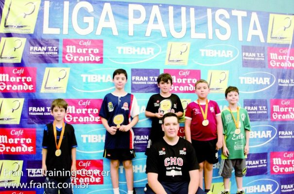Matheus Albano foi o campeão na categoria pré-pré-mirim. (Foto: Divulgação)
