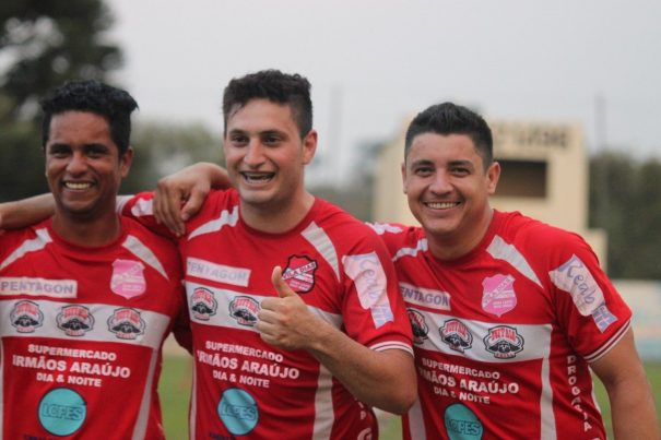Vando, Jean e Jefinho: trio presente nas últimas três conquistas da Vila, em 2007, 2012 e 2014.(Foto: Diego Ortiz)