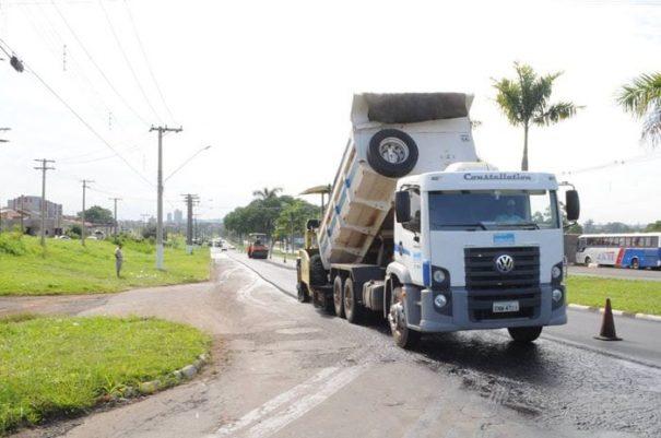 A próxima etapa consiste na realização dos serviços na Avenida Brasil, até o Jardim Serra Dourada (Foto: Divulgação)