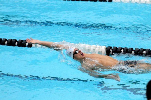 Nadador Conrado Lino conquistou índices em dois nados. (Foto: Divulgação)