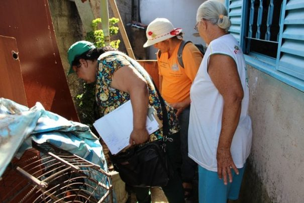Mutirão foi realizado no sábado nas zonas Leste e Norte (Foto: Divulgação)