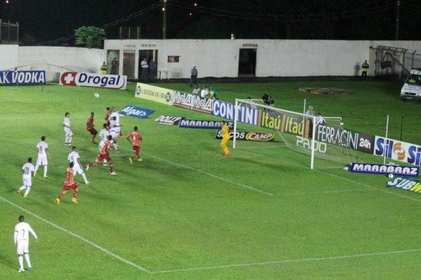 Mogi empatou com o Santos e mantém longa invencibilidade no Romildão. (Foto: Diego Ortiz)