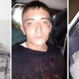 Três jovens são presos pela polícia por formação de quadrilha