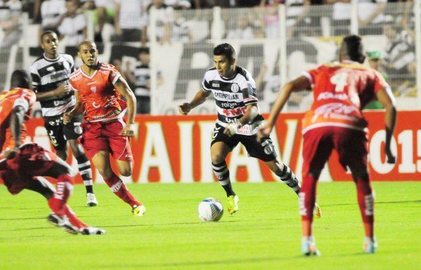 Mogi Mirim estreou no Paulistão com vitória por 1 a 0 contra o XV, em Piracicaba. (Foto: Del Rodrigues/Gazeta de Piracicaba)