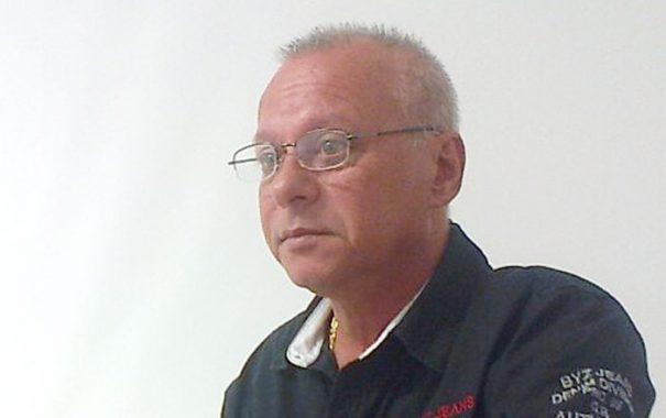 Presidente do sindicato dos comerciários, Fernando José Batturi, foi preso no domingo (Foto: Fabrício Leme de Moraes / Gazeta Guaçuana)