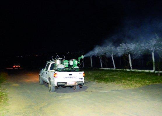 Carro da Superintendência de Controle de Endemias auxiliará nos trabalhos na zona Leste (Foto: Reprodução)
