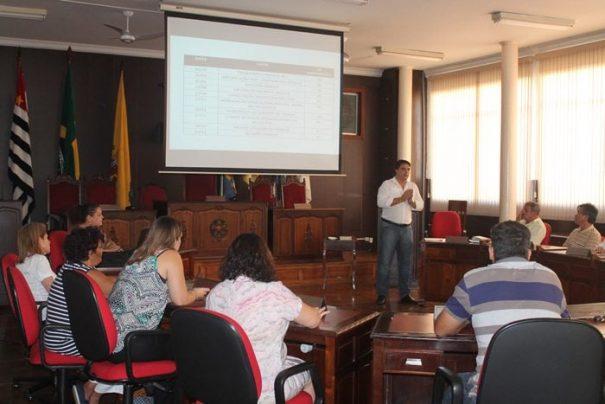 Reunião aconteceu na tarde de quarta-feira na Câmara Municipal (Foto: Fernando Surur)