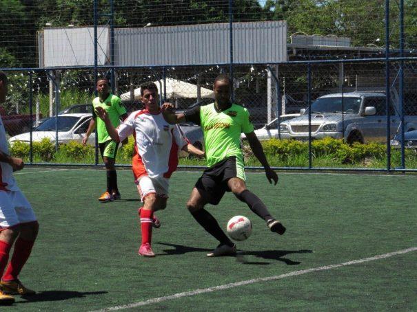 ABB Grêmio/Vila Dias goleou o Atlético Mogi por 8 a 2 e lidera o Grupo B da competição. (Foto: Marcelo Gotti/Lifamm)