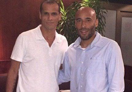 Rivaldo anunciou Edinho na noite desta segunda-feira. (Foto: Divulgação/Site MMEC)