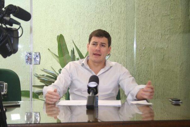 """Justiça determinou """"cassação"""" do prefeito Gustavo Stupp (PDT) na tarde desta quarta-feira (Foto: Arquivo)"""