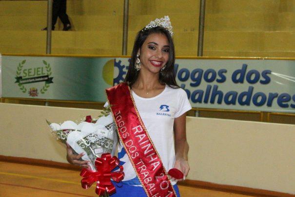 Bianca Silveira, da Balestro, foi a vencedora do concurso da Rainha. (Foto: Divulgação)