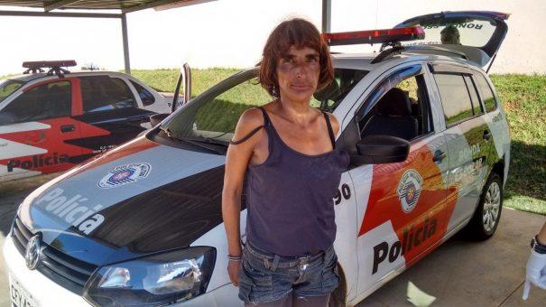Adriana Corsi Allegretti foi detida com 10 pinos de cocaína e 26 pedras de crack