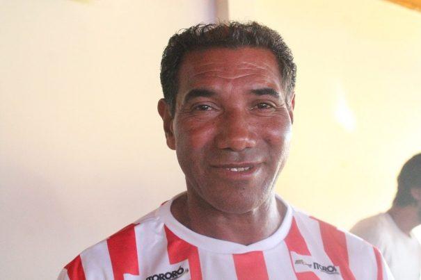 Centroavante Bugrão: gols marcantes com passes de Silvinho. (Foto: Diego Ortiz)