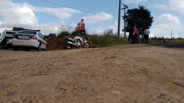 Motociclista morreu após perder controle em uma curva acentuada
