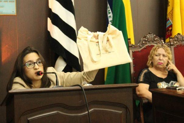 Denúncia veio à tona durante discurso da vereadora, na Câmara (Foto: Ana Paula Meneghetti)