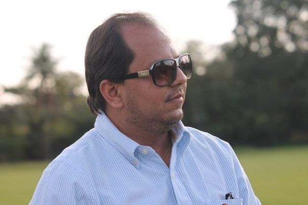 Cristiano Pereira da Rocha, assessor da presidência do Mogi Mirim. (Foto: Diego Ortiz)