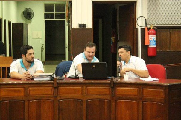 Presidente da autarquia, Luciano Lopes, apresentou os números durante audiência pública na Câmara (Foto: Ana Paula Meneghetti)