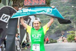 Mirlene Picin completou os 21 quilômetros de percurso em 2 horas, 34 minutos e 31 segundos. (Foto: Divulgação)